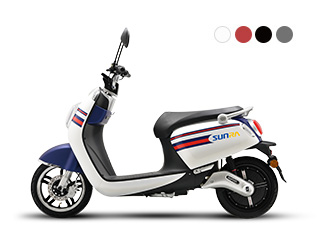 sunra lithium battey electric scooter electric two-wheeler Crystal